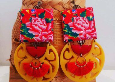 boucles d'oreilles merveilleuses un air de chine boutique merveilles montpellier