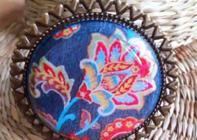 broche motif Kashmir création merveilles montpelier